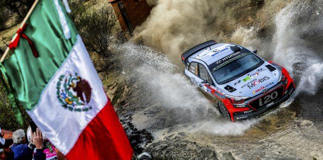 FIA World Rally Championship / Rally Guanajuato México / Mexico City's iconic heart beats to WRC rally rhythm