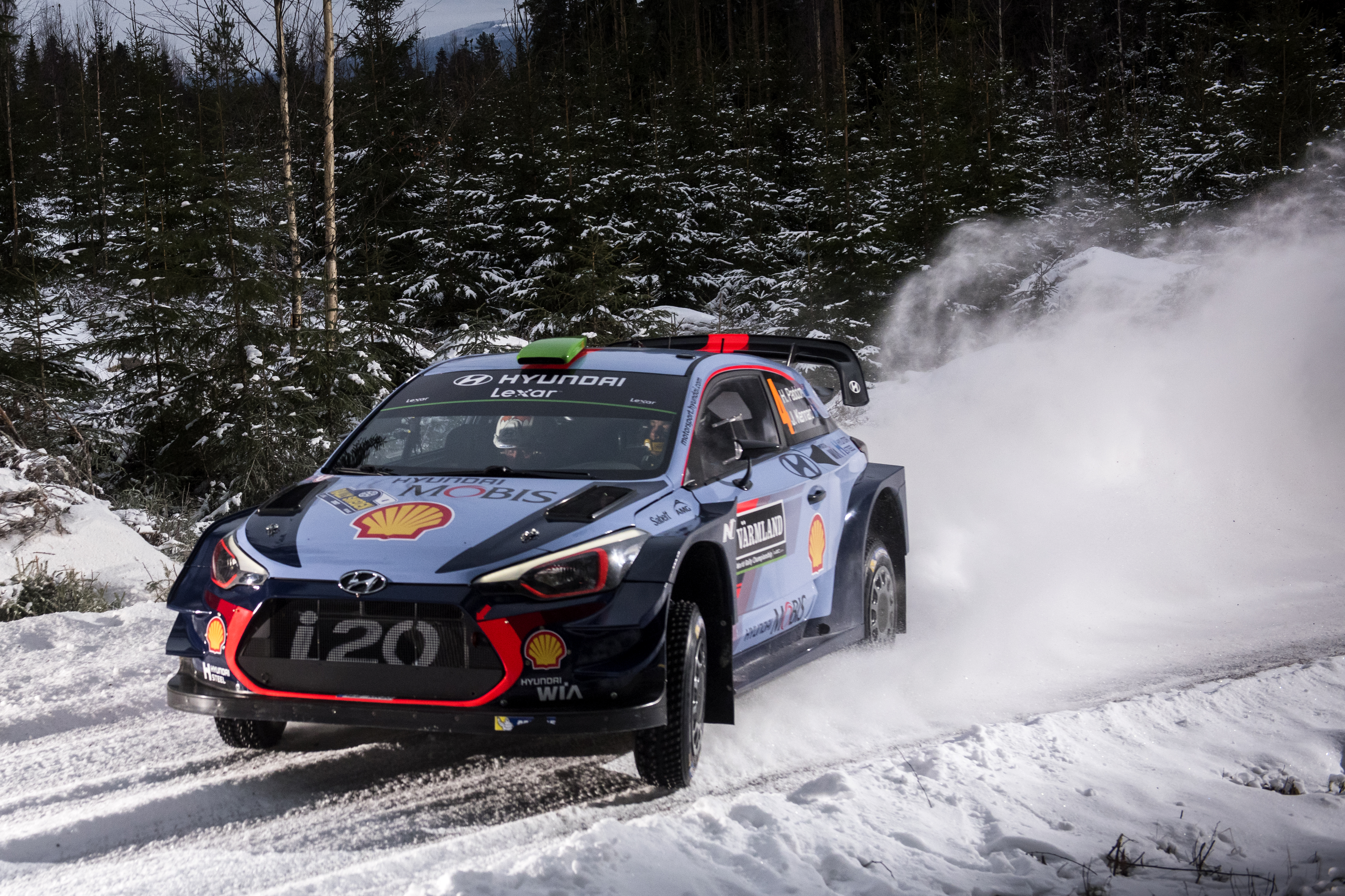 Motorsports WRC Rally Sweden Behind the scenes 1536 pieces
