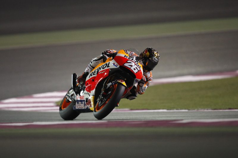 Repsol Honda Team commence final test in Qatar - ASC - Action Sports Connection