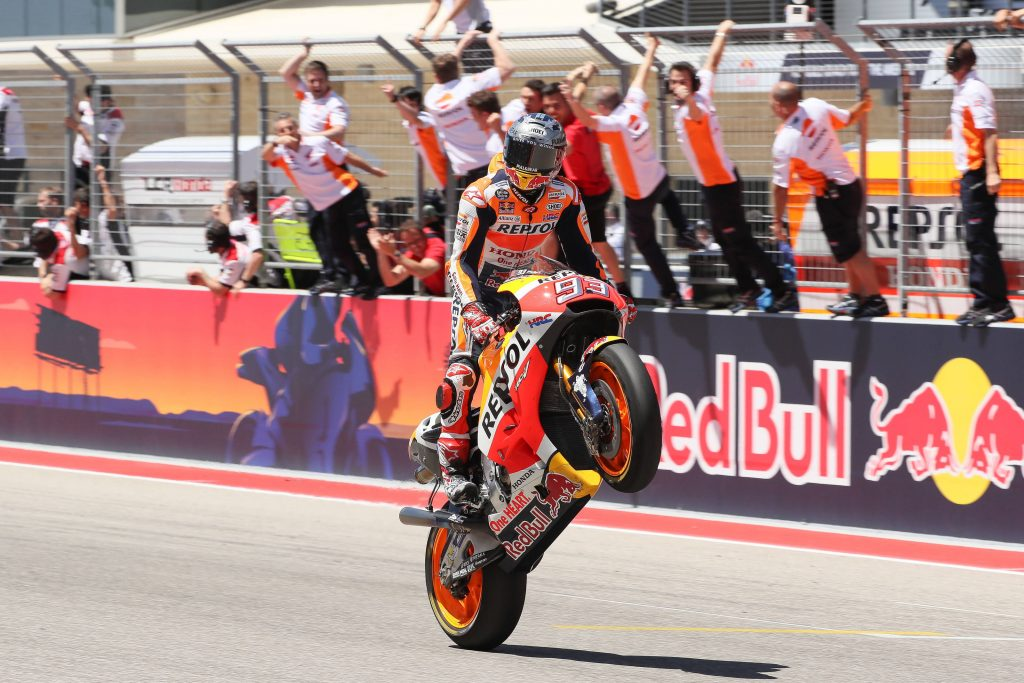 Five in a row for Marquez - ASC - Action Sports Connection