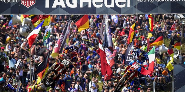 Cairoli and Seewer Win the MXGP of Germany