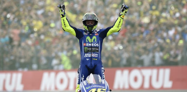 Rossi Rallies to an Astonishing Win in Assen