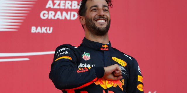 It's unreal to win – Ricciardo