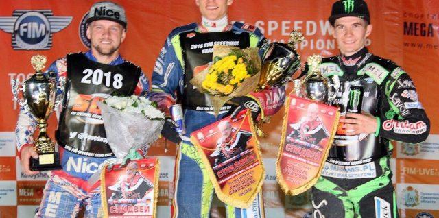 Przemyslaw Pawlicki, Artem Laguta and Patryk Dudek book their places in the 2018 FIM Speedway Grand Prix series