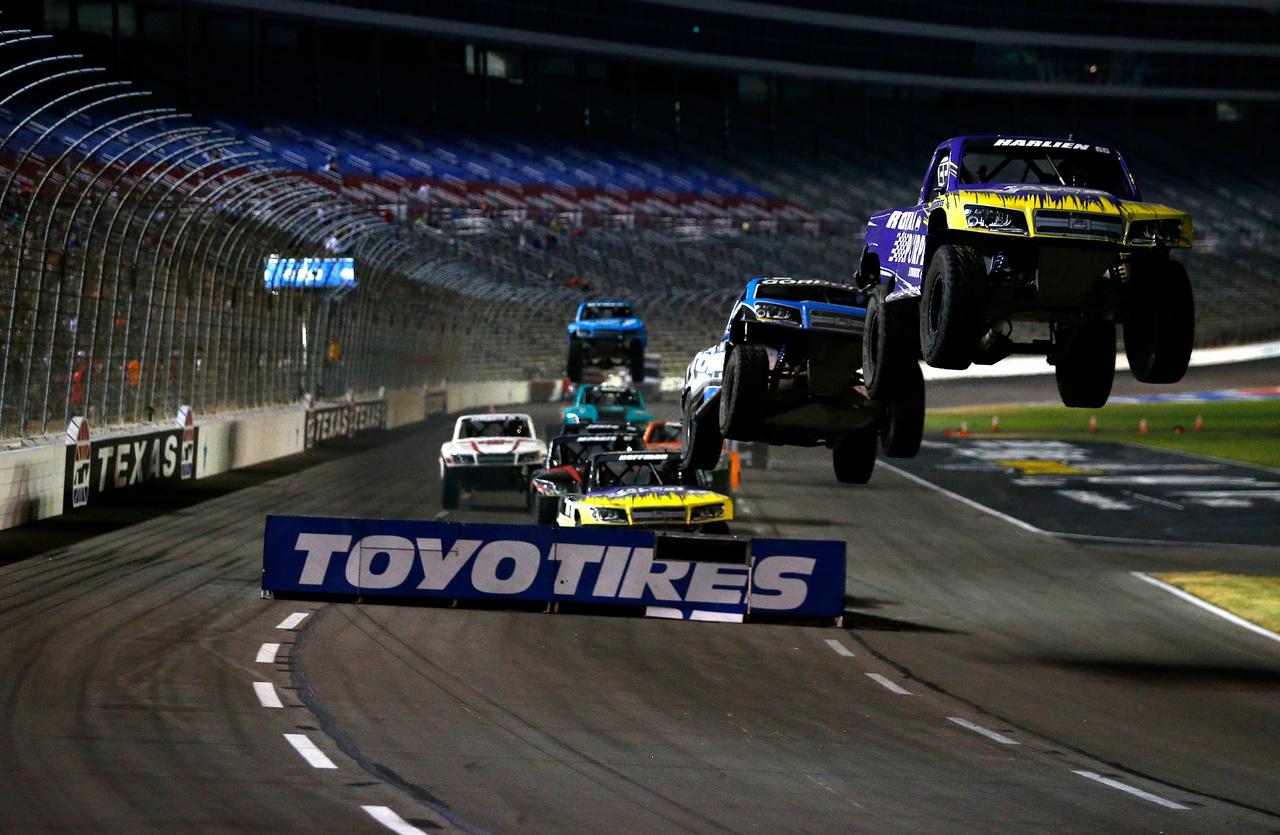 Stadium super trucks returning to texas motor speedway in for Texas motor speedway weekend schedule