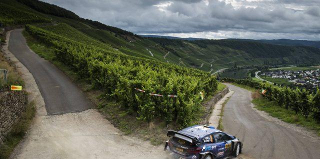 FIA World Rally Championship / ADAC Rallye Deutschland / Tänak masters rain