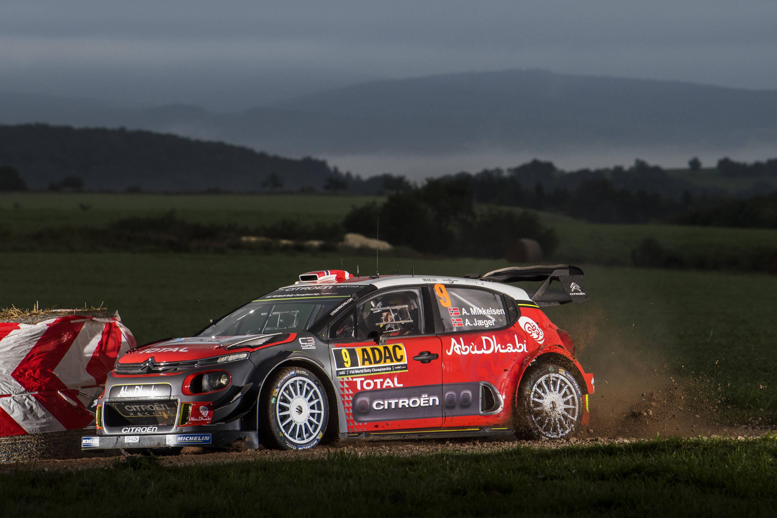 Citroen C3 Tyre Pressure >> FIA World Rally Championship / ADAC Rallye Deutschland / Tänak seals win - ASC - Action Sports ...