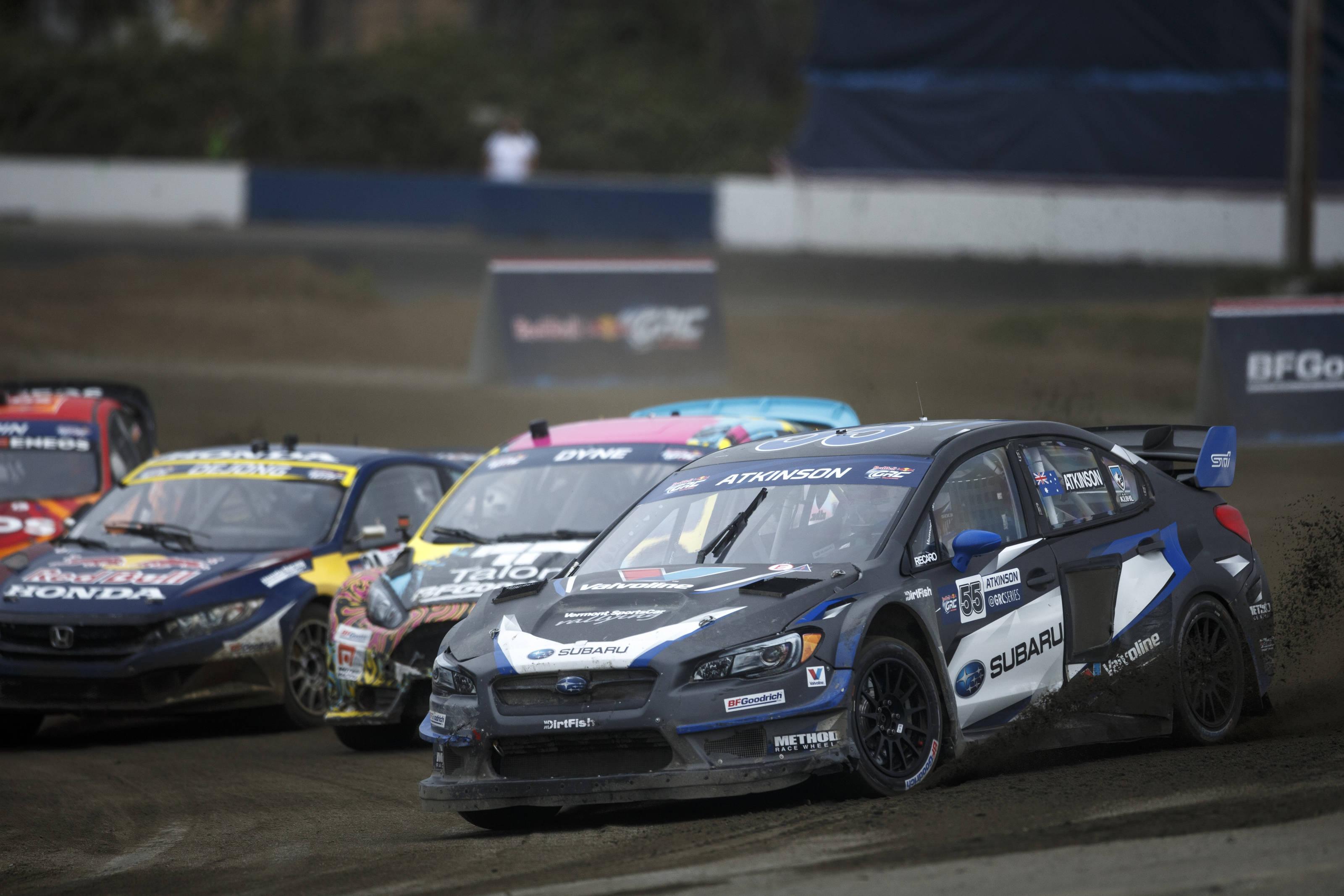 Tanner Foust Wins Red Bull Global Rallycross Seattle I ASC