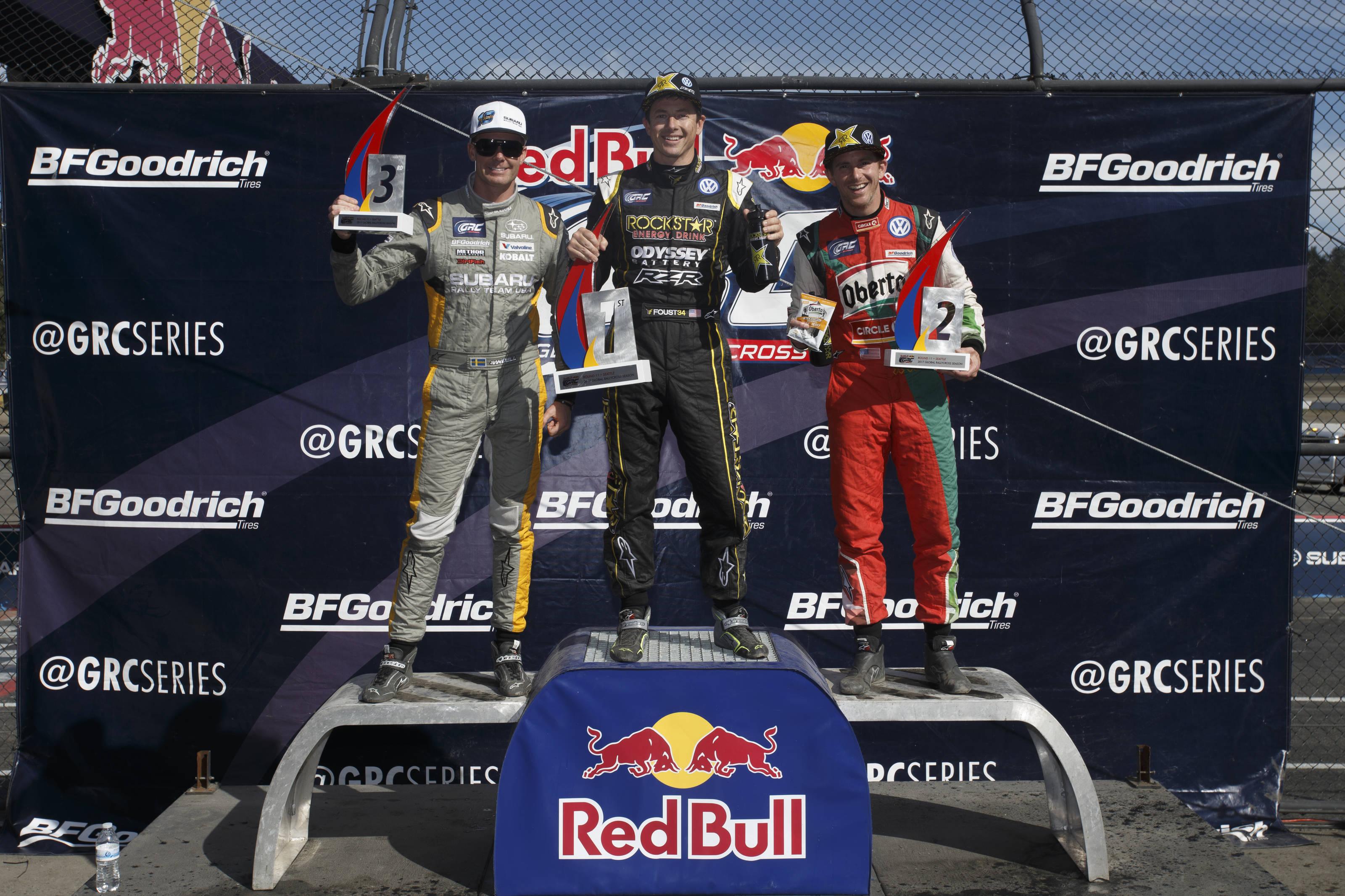 Tanner Foust Sweeps Red Bull Global Rallycross Seattle ASC