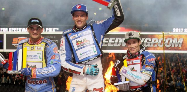 Slovenian star Matej Zagar storms into FIM Speedway Grand Prix top eight with Stockholm SGP victory at Friends Arena