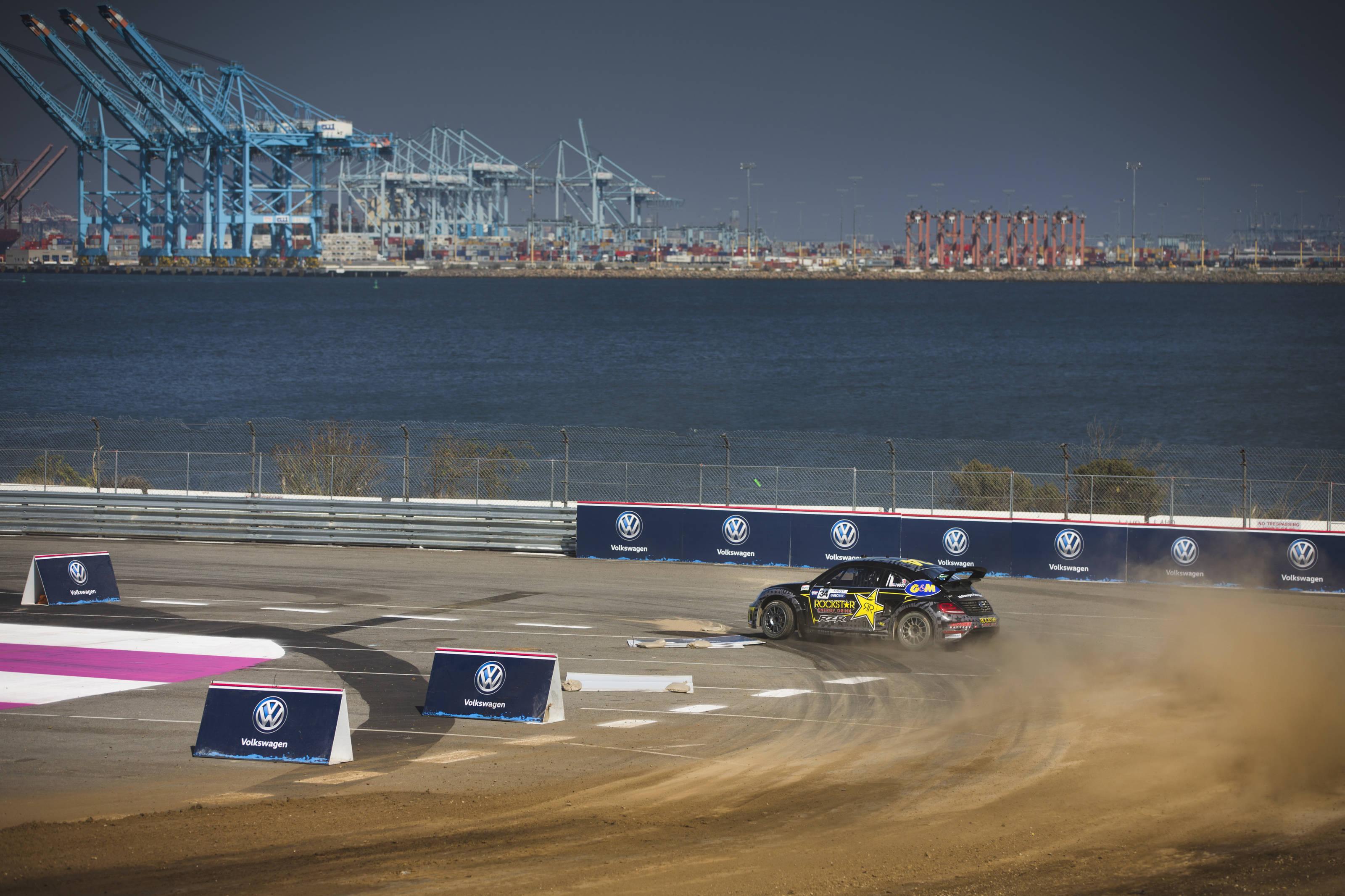 Scott Speed Wins Third Straight Red Bull Global Rallycross Title
