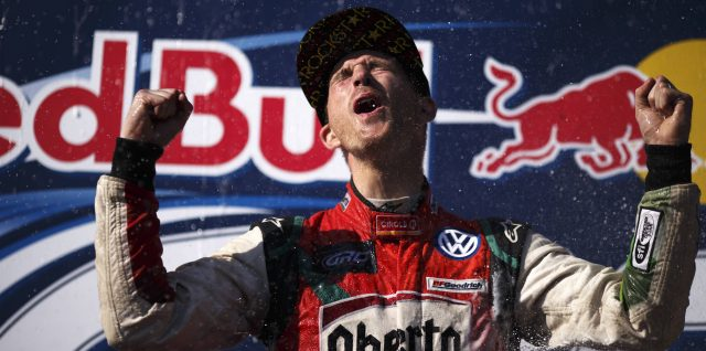 Scott Speed Wins Third Straight Red Bull Global Rallycross Title in Los Angeles