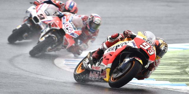 100 GP podiums up for Marquez
