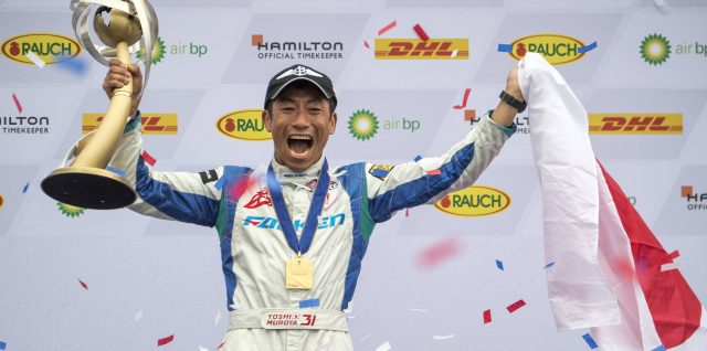 Muroya wins first Red Bull Air Race World Championship for Japan