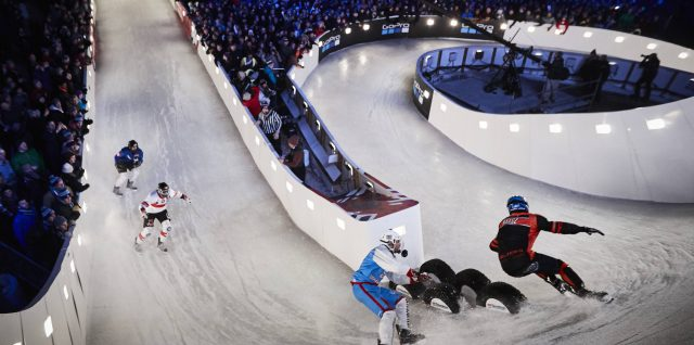 Champions eye Crashed Ice triple