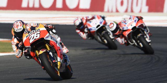 Pedrosa powers to MotoGP win