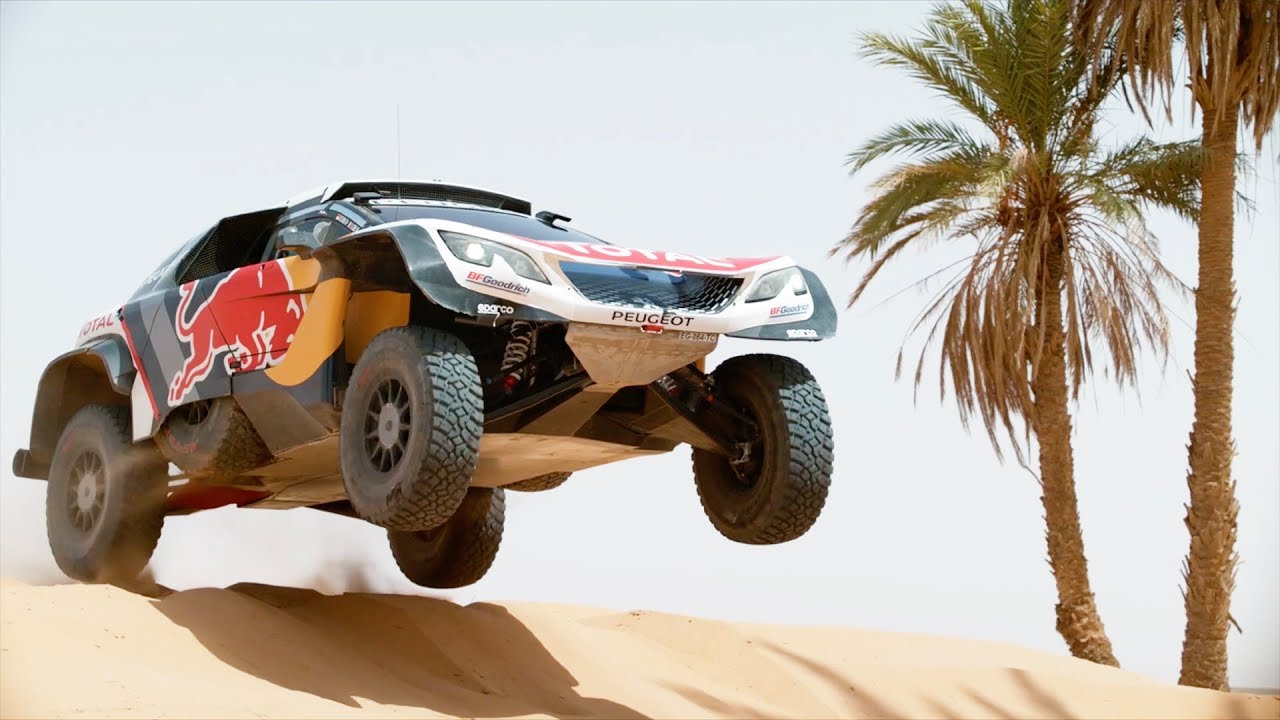team peugeot total testing their 3008dkr maxi rally dakar 2018 asc action sports connection. Black Bedroom Furniture Sets. Home Design Ideas