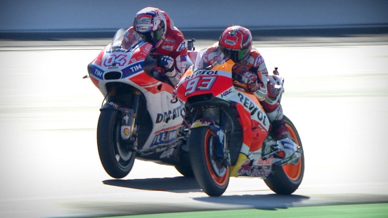 Best overtakes from 2017 in MotoGP™ - ASC - Action Sports Connection