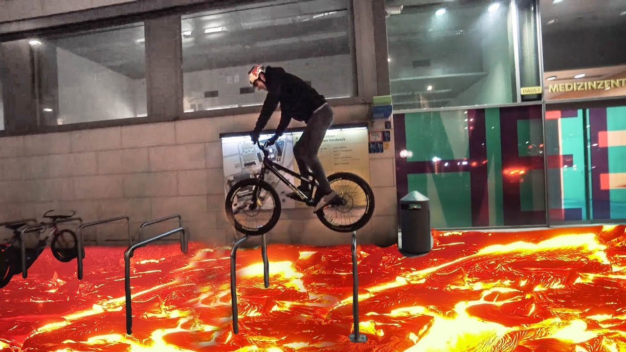 THE FLOOR IS LAVA CHALLENGE on bikes |SickSeries#34 - ASC - Action Sports Connection