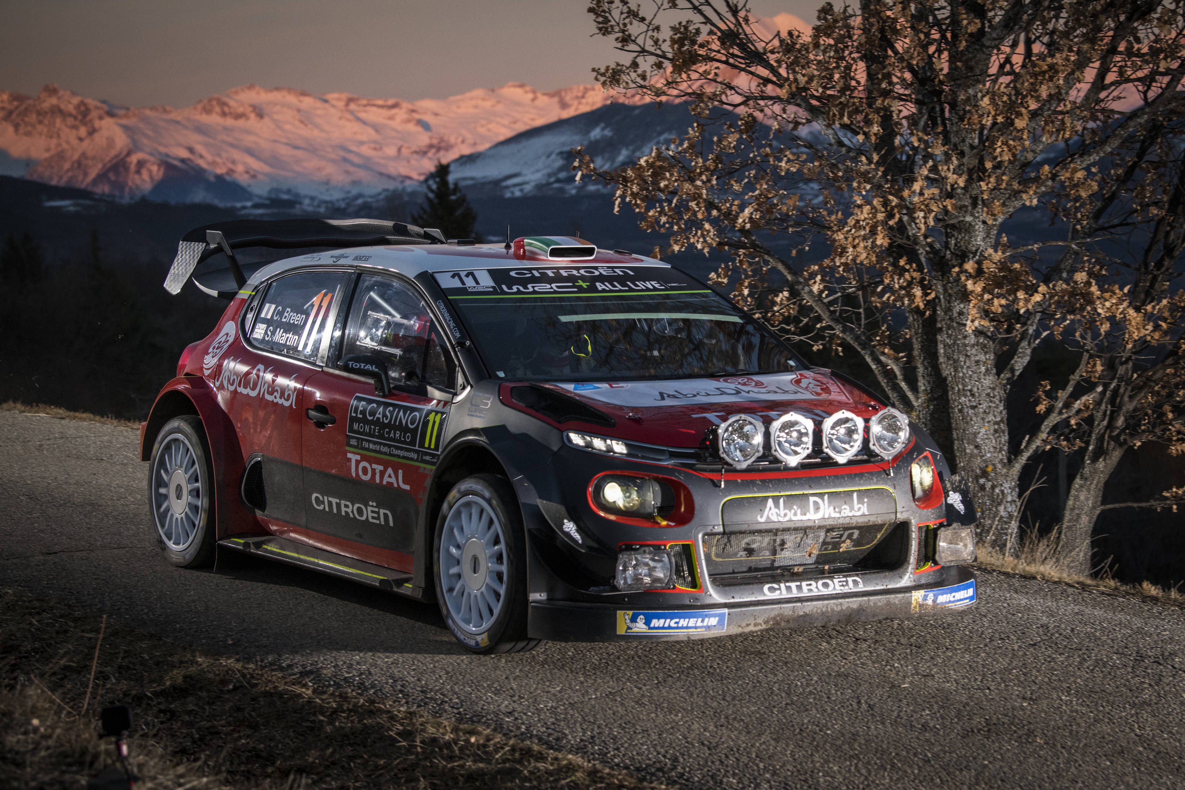 fia world rally championship rallye monte carlo ogier overcomes early scare asc action. Black Bedroom Furniture Sets. Home Design Ideas