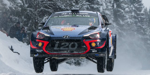 FIA World Rally Championship / Rally Sweden / Neuville heads Hyundai 1-2-3