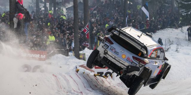 FIA World Rally Championship / Rally Sweden / Neuville opens up crucial gap