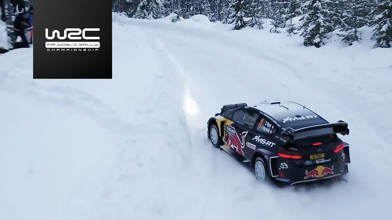wrc rally sweden 2018 shakedown highlights asc action sports connection. Black Bedroom Furniture Sets. Home Design Ideas