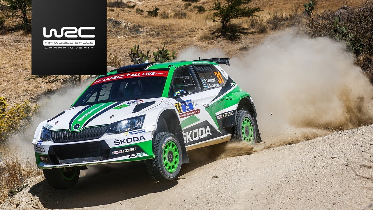 wrc 2 rally guanajuato m xico 2018 highlights saturday asc action sports connection. Black Bedroom Furniture Sets. Home Design Ideas