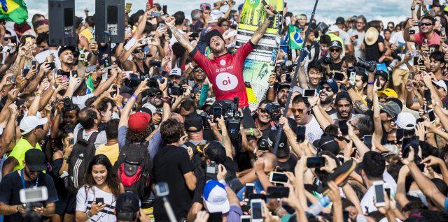 Filipe Toledo Claims Second Oi Rio Pro Victory in Brazil