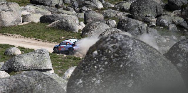 FIA World Rally Championship / Vodafone Rally de Portugal / Neuville doubles lead at Rally de Portugal to boost title hopes
