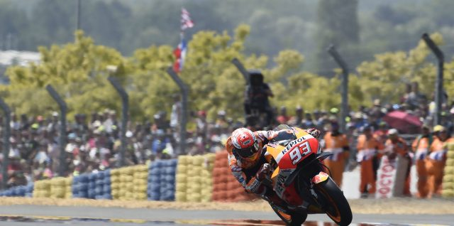 Márquez extends lead as winning streak continues in Le Mans
