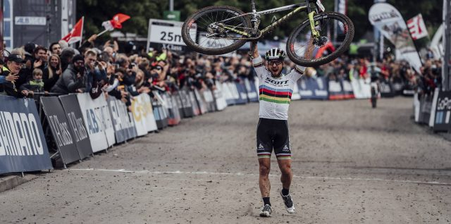 UCI Mountain Bike World Cup / Germany / Nino Schurter and Jolanda Neff triumph for Switzerland in Albstadt