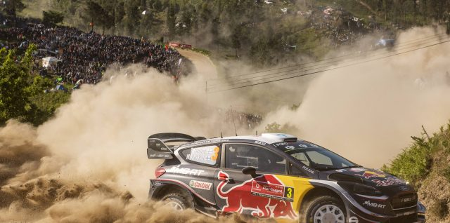 FIA World Rally Championship / Vodafone Rally de Portugal / Suninen soars to new heights