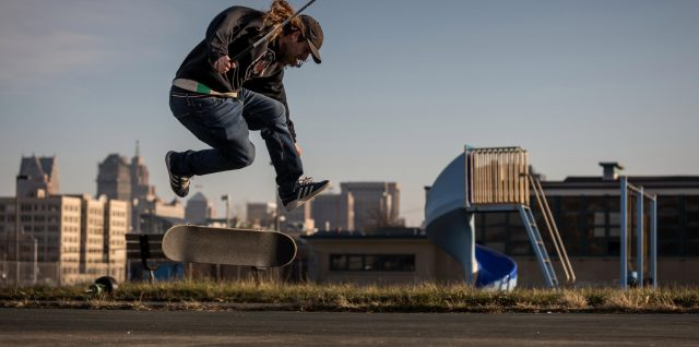 Blind skateboarder Dan Mancina on his new vision for the world