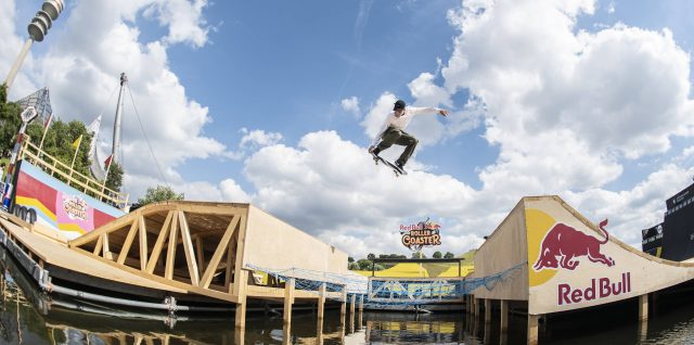 Ilardi masters groundbreaking new course at Red Bull Roller Coaster