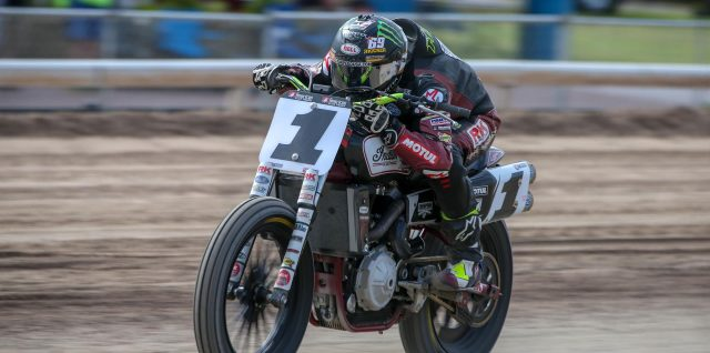 Jared Mees and Dan Bromley Better than OK at American Flat Track's OKC Mile