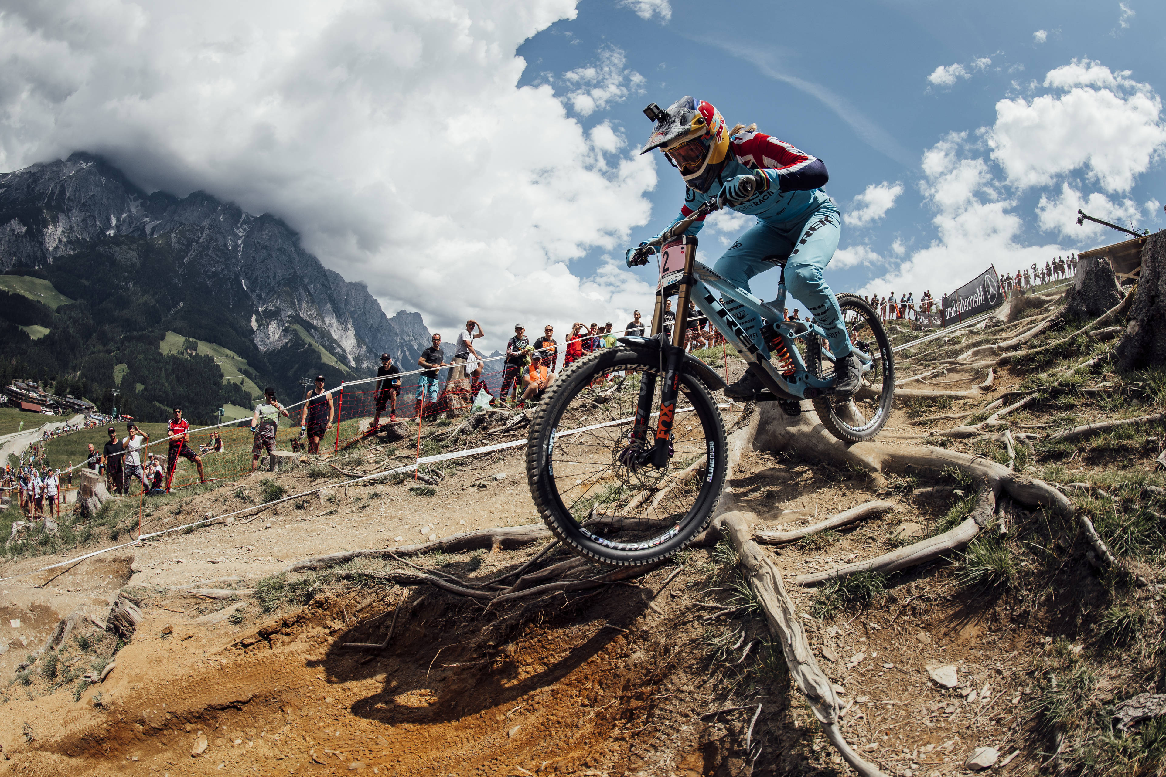 e0253061b3e Rachel Atherton performs at UCI DH World Cup in Leogang, Austria on June  10th, 2018 – Photographer Credit: Bartek Wolinski/Red Bull Content Pool
