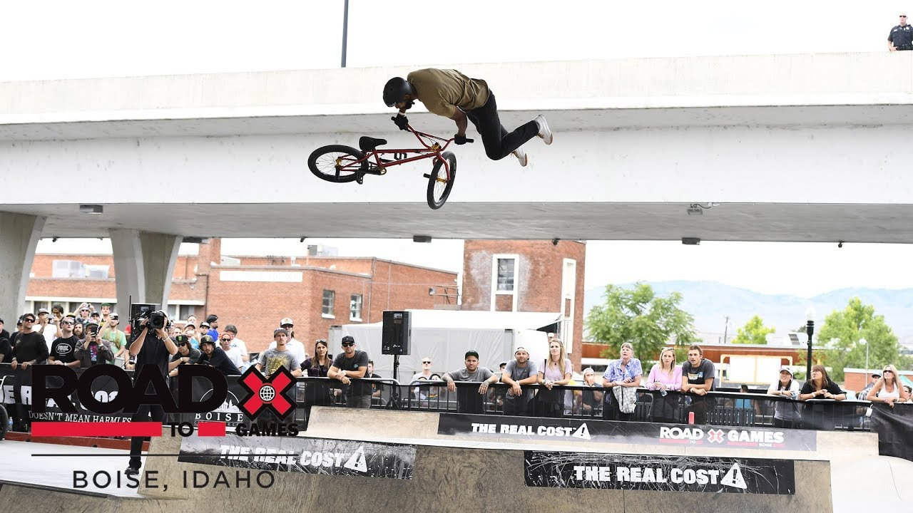 Mykel Larrin wins BMX Park l Road To X Games Boise 2018 - ASC