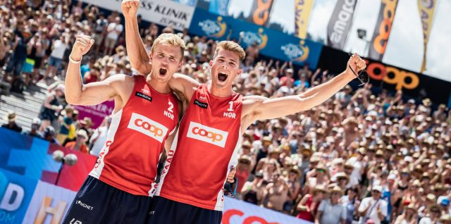 Historic Vikings conquer Gstaad