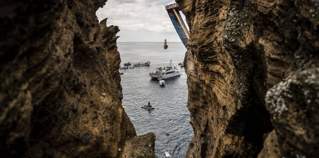 PHOTO ALERT: Iffland lands most difficult dive on the tour in Portugal
