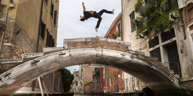 VIDEO: Venice as you've never seen it before with freerunner Petkuns