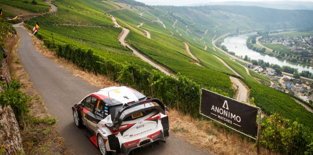 FIA World Rally Championship / ADAC Rallye Deutschland / Masterful Tänak steamrollers rivals in German vineyards