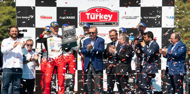 FIA World Rally Championship / Rally Turkey / Cautious Tänak ignites title bid at Rally Turkey after third straight win