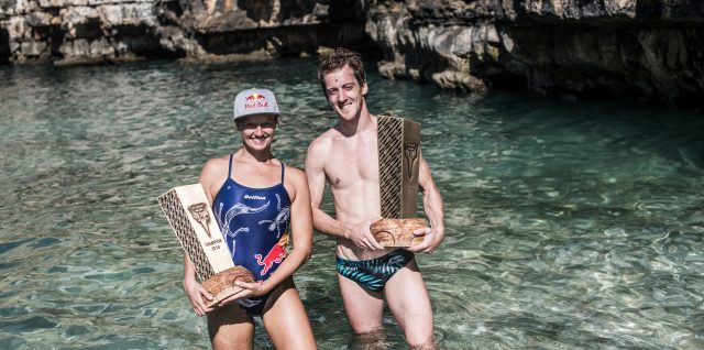 Hunt triumphs in Italy to claim record seventh Cliff Diving title
