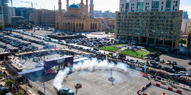 El Kik crowned Red Bull Car Park Drift Champion in Lebanese capital