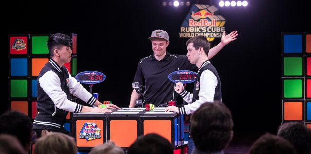 Mind Gaming / Red Bull Rubik's Cube World Championship / Record holder Zemdegs speeds to glory