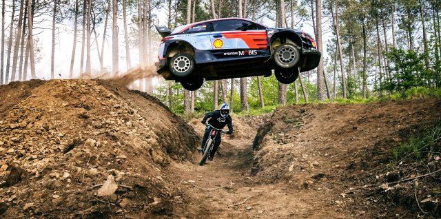 VIDEO ALERT: Two wheels or four? Sordo takes on Lacondeguy