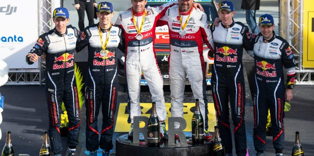 FIA World Rally Championship  / RallyRACC Catalunya – Rally de España / Loeb turns back the clock for a first win in five years