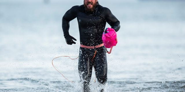 Endurance / Swimming / Ross Edgley completes historic Great British Swim in Margate