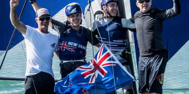 Sailing / Red Bull Foiling Generation / New Zealand excel in perfect conditions for Miami win